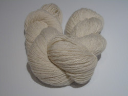 3 ply Camelot Organic White Alpaca Yarn 85/15