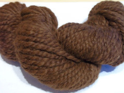 Camelot Organic Double Lopi Alpaca Yarn -Brown