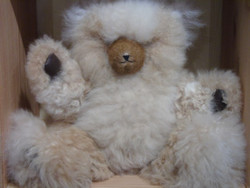 Jointed Alpaca Teddy Bear