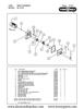 TorRey M-12FS Meat Grinder Parts List