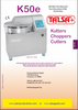 Talsa K50e Bowl Chopper Manual & Parts List
