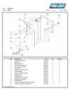 ProCut KS-120 Meat Bandsaw Parts List