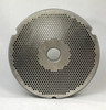 #52 Meat Grinder Plate with 5/64'' Holes - Hubbed Plate - 104793