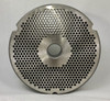 #52 Meat Grinder Plate with 1/8'' Holes - Reversible & Hubbed Plate - 102257 & 106298