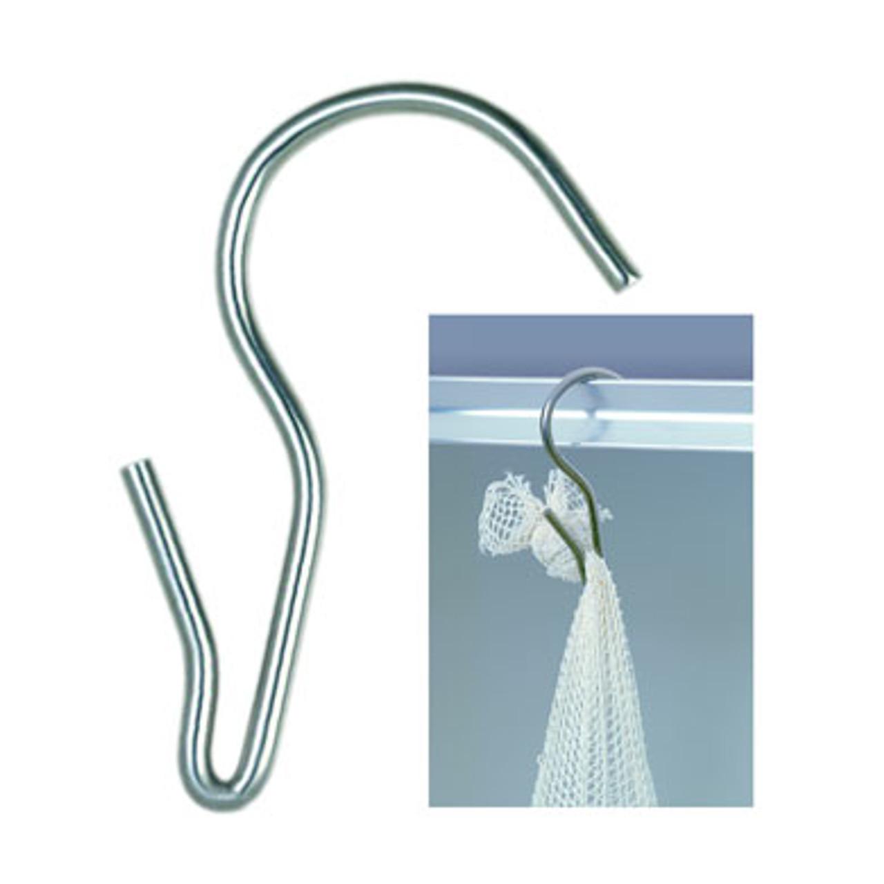 "Stainless Steel Stockinette Hook (1/4"" x 4 1/4"" for 1 1/2"" Sticks)"