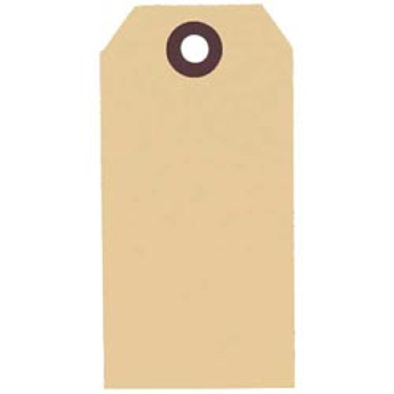 Plain #4 Manila Tags (1,000 per Box)
