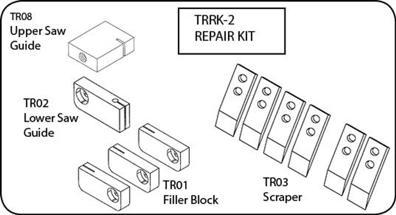 ProCut KSP-116,KS-116 & KS-120 - Saw Repair Kit - TRRK-2