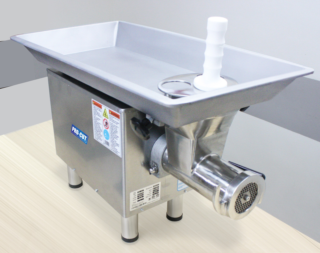 ProCut KG-22WXP-SS Meat Grinder - Stainless Steel