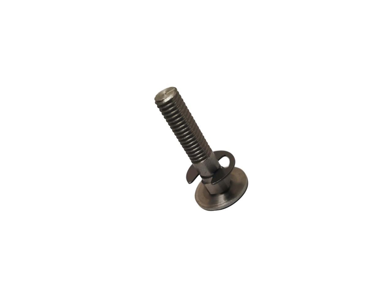 Bizerba Slicer - Remnant Holder Threaded Stud and Retaining Ring - SE12 - BZ090