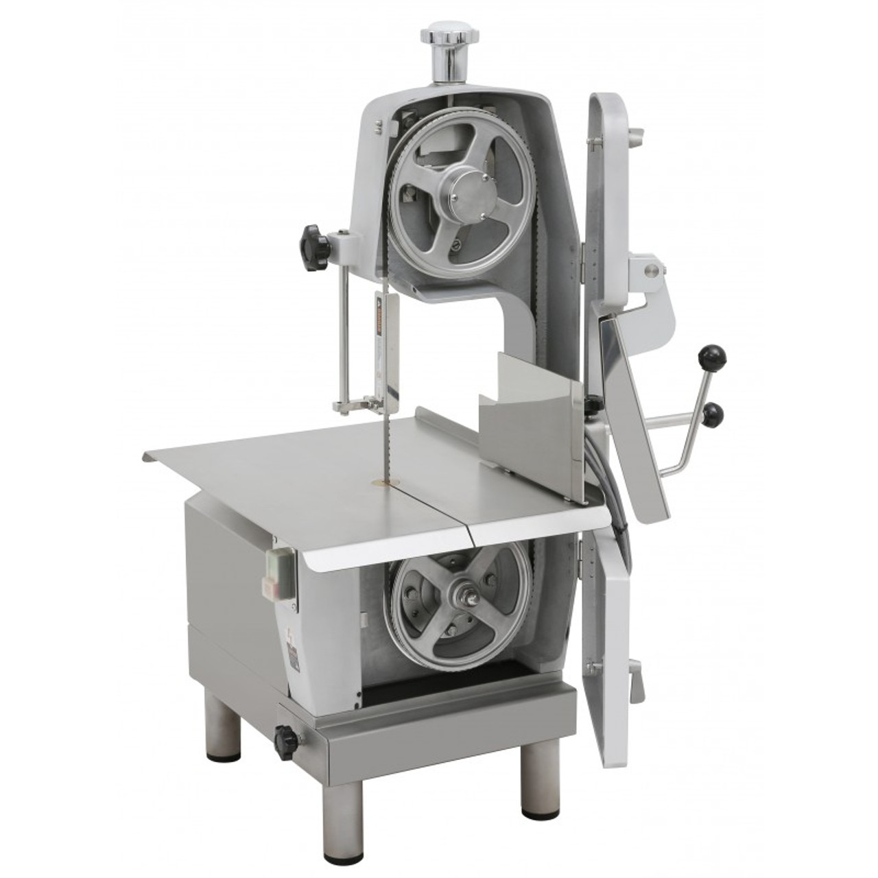 "German Knife Meat Band Saw - Table  Top Meat - 66"" in. Blade - 3/4HP - 110 Volt"