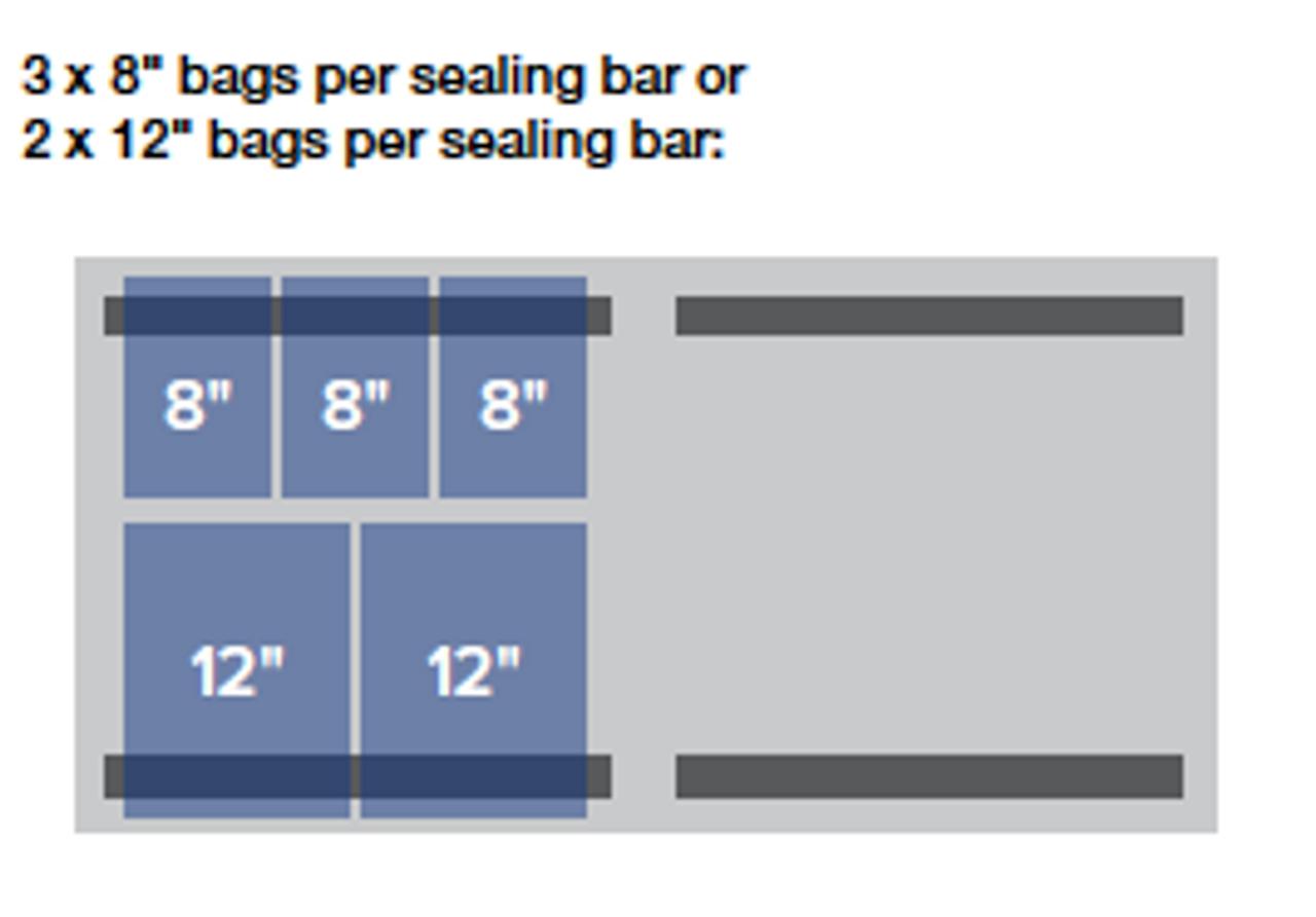 "MiniPack MV 630F VacSmart - ""Flat Deck"" Double Chamber Vacuum Sealer"