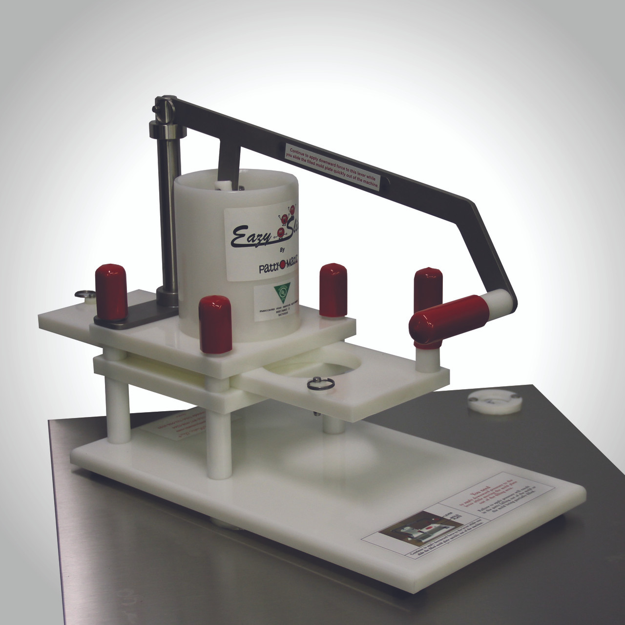 Patty-O-Matic - Easy Slider - UL/EPH Classified - NSF/ANSI 8 Standards