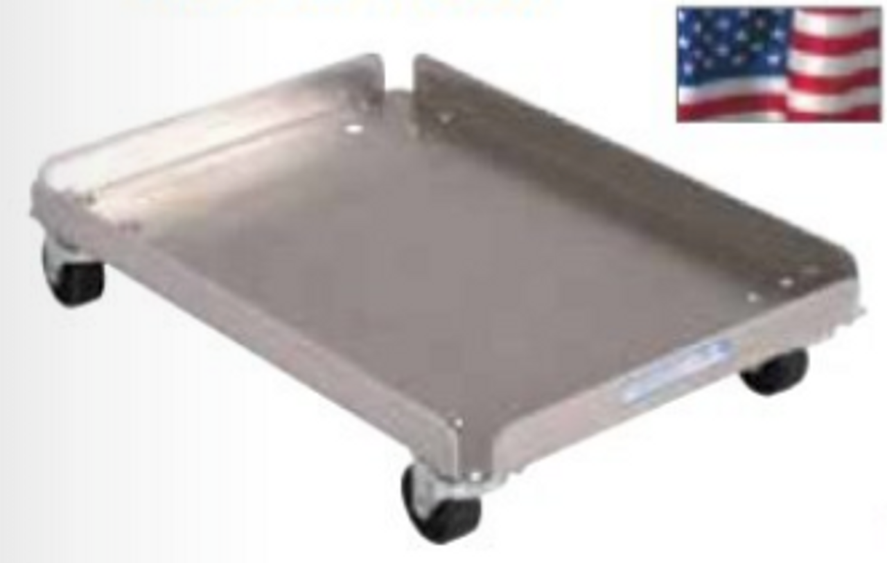 "Aluminum ""Empty"" Tote Dolly - Up to 25 Empty Totes"