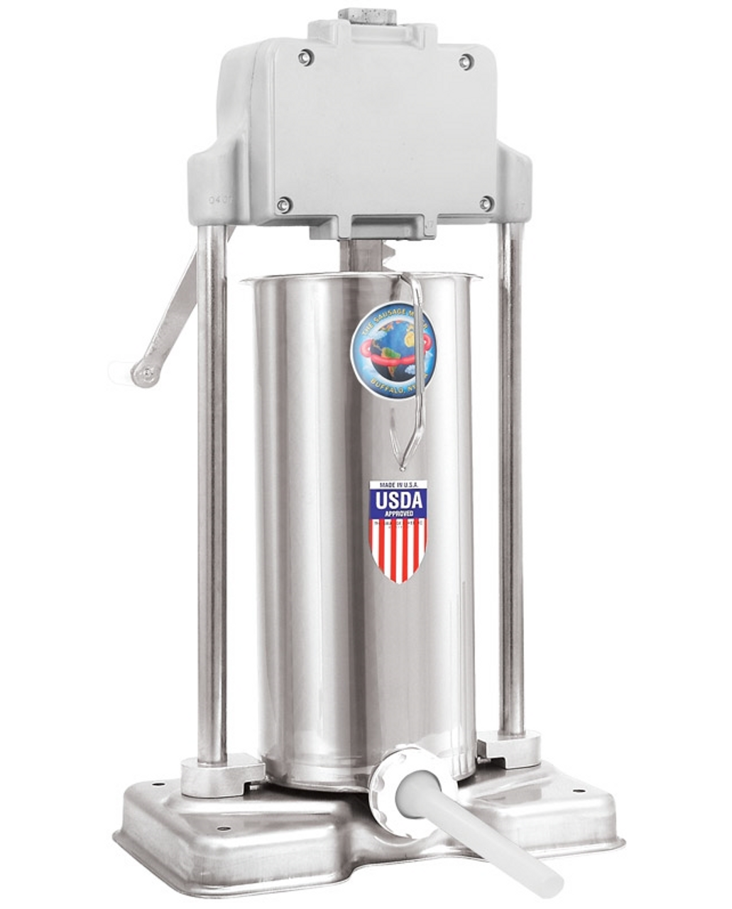 25lb. Deluxe Manuel Sausage Stuffer - Made in the USA - 52501
