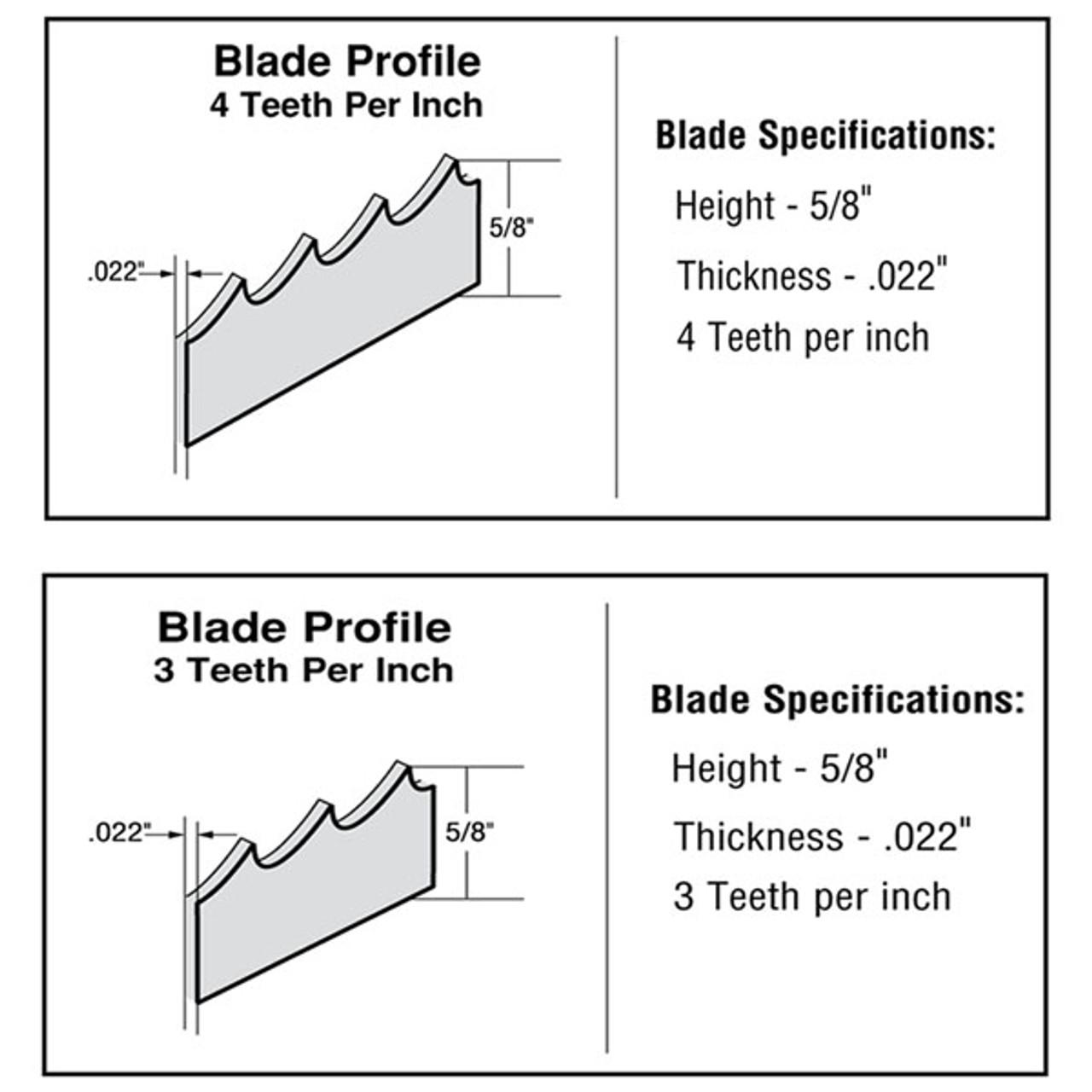 142'' Meat Band Saw Blades - Biro 44 & Hobart 5700,5701,5801,6801