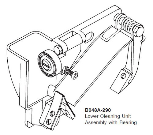 Lower Cleaning Unit Assembly with Bearing - B048A-290