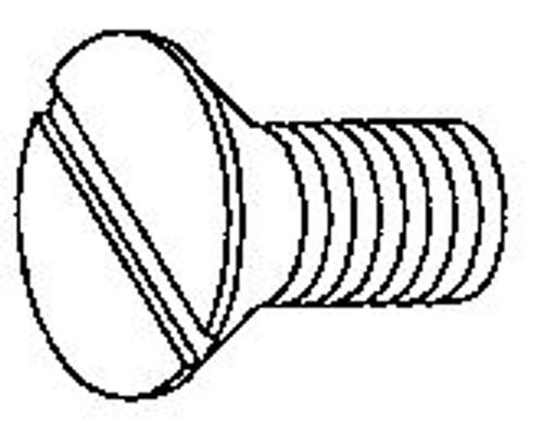 Globe Center Plate Ring Knife Screws (6/pkg) - GS219