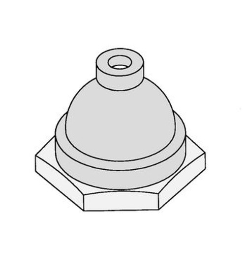Biro Water Proof Cap for On/Off Toggle Switch