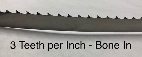 164 1/2'' Meat Band Saw Blades - Biro 55