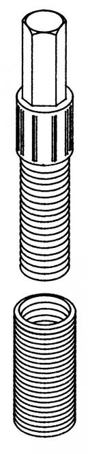 Butcher Boy B12,B14,B16,SA16, & SA20 - Threaded Sleeve Extractor Tool - BBX-100
