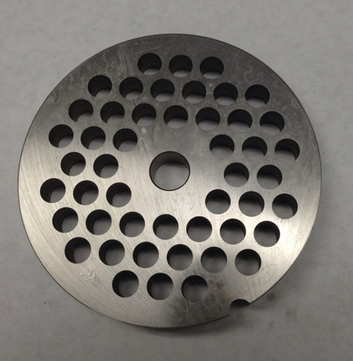 #56 Meat Grinder Plate with 1/2'' Holes