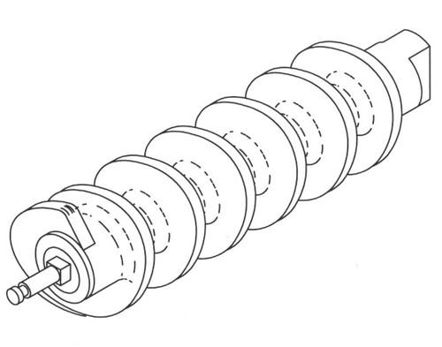 Biro 548SS - FeedScrew Assembly - B630A