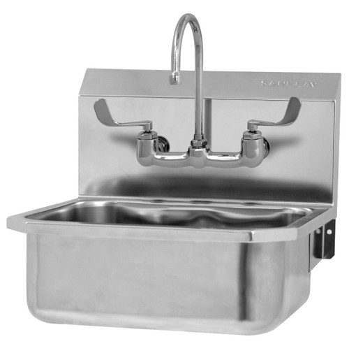SANI-LAV 505FL Hands Free Sink - Stainless Steel - Wall Mount