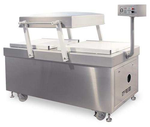"MiniPack MV 830F VacBasic - ""Flat Deck"" Double Chamber Vacuum Sealer"