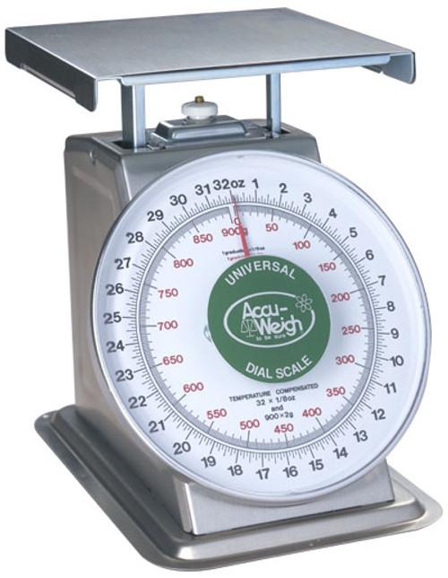 Accu-Weigh SM(N)-28PK - Portion Control Scale - 32oz. x 1/8oz.