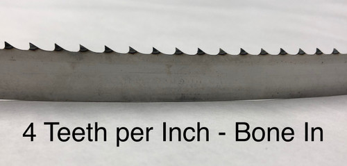 """74'' x 5/8"""" x .016 & .022"""" - Meat Band Saw Blades"""
