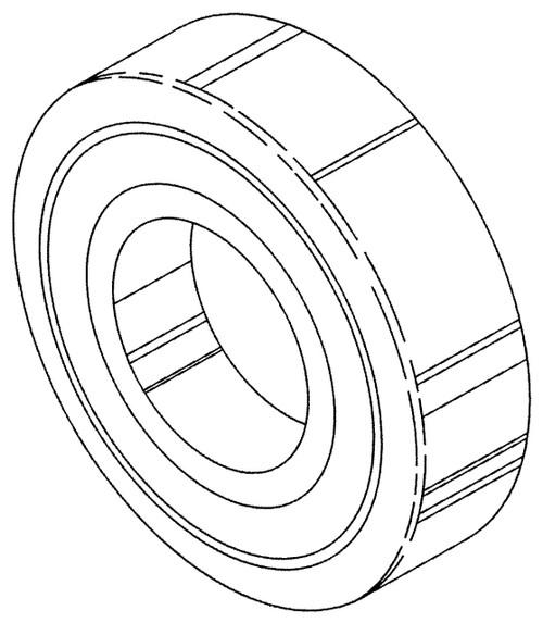 Butcher Boy SA30 & SA36 - Lower Main Bearing (Roller) Rear - 90313 - BB159