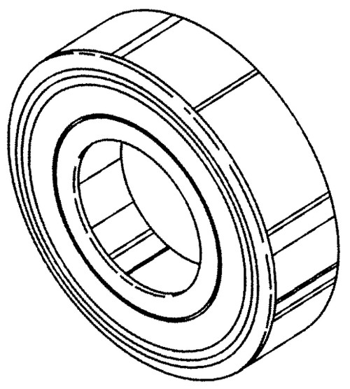 Butcher Boy SA30 & SA36 - Roller Table Bearing - 90302 - BB161
