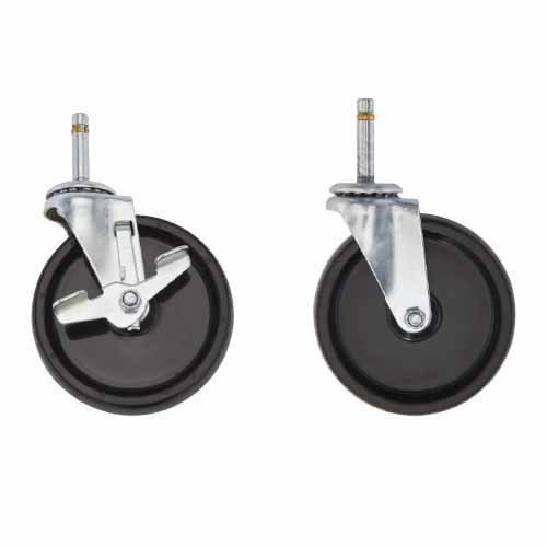 "5"" Casters  for Standard-Duty Aluminum Dolly"
