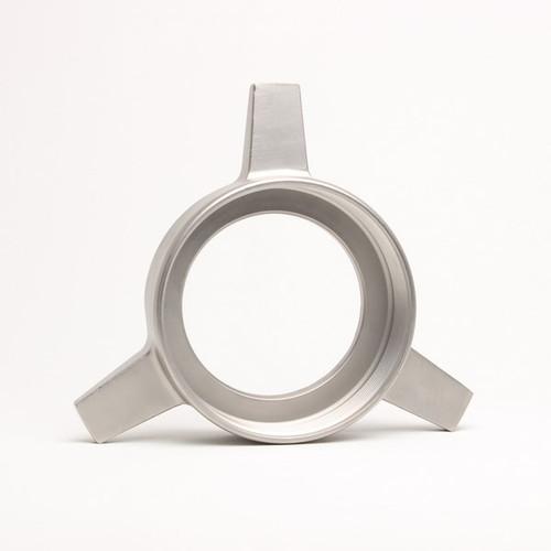 """Talsa W-525 - W82 """"ONLY"""" - S/S Triangular Nut """"Ring"""" - 7311"""