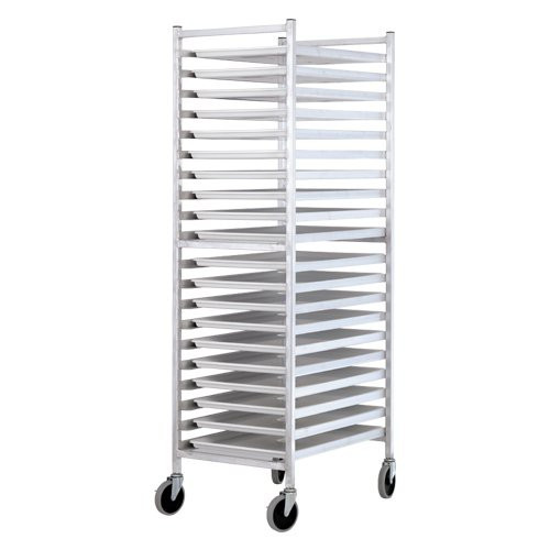 Aluminum 20 Tier - Platter Dolly - End Load