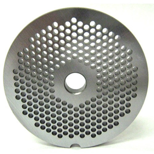 #22 Meat Grinder Plate with 1/8'' Holes