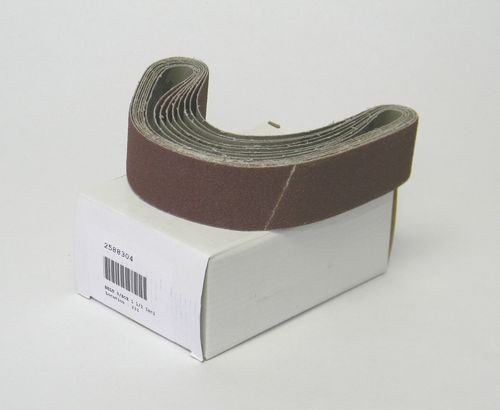 "24'' x 1-1/2"" 80"" Grit Replacement Belt for Hook Eye Knife Sharpener"
