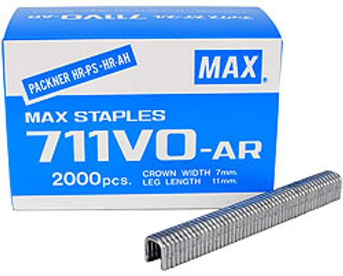 "Salco 711 Hog Rings for MAX Packer. 7/16"" Length Aluminum - 2,000/box"