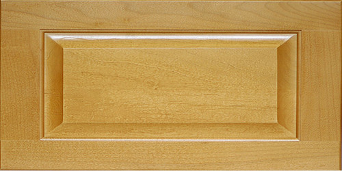 Wood Raised Panel Square Drawer Front 5 Piece