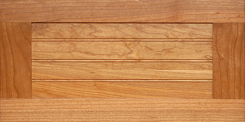 Wood Shaker Beadboard Drawer Front 5 Piece