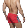 Addicted Swimwear Sailor Stripes Shorts Red ADS140 (ADS177-06)