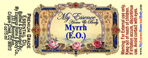 Pure Myrrh Essential Oil