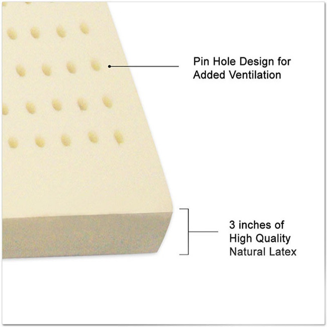 """3"""" All Natural Latex Topper"""