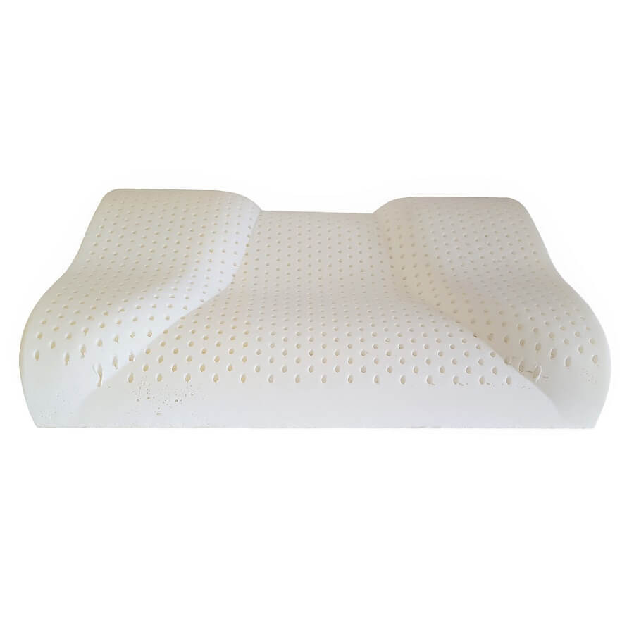 Contour Latex Pillows Side to back sleeper pillow Natural Latex pillow