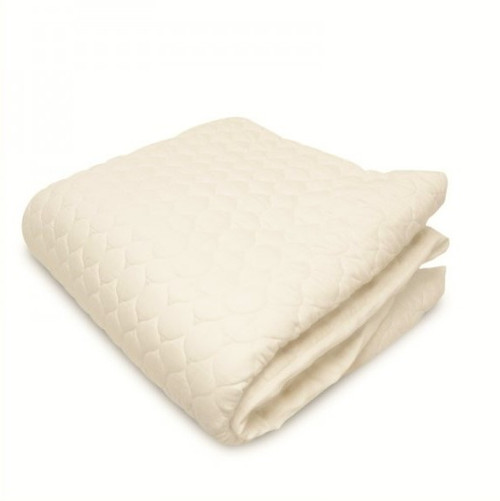 Organic Cotton Fitted Mattress Pad