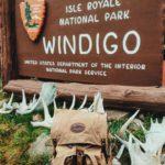Our Isle Royale Jr. Bushcraft Pack at Windigo ranger station on the southwest end of Isle Royale National Park. Photo courtesy J. Geissler