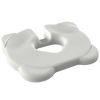 Ergonomic design distributes your weight evenly allowing for less bottom pressure