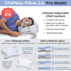 CPAP Pillow. Upgrade to CPAPMax Pillow 2.0 for only $10 more!