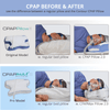 CPAP Pillow improves alignment and prevents your mask from shifting which causes leaks