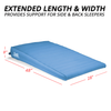 Large wedge width perfect for side or back sleepers